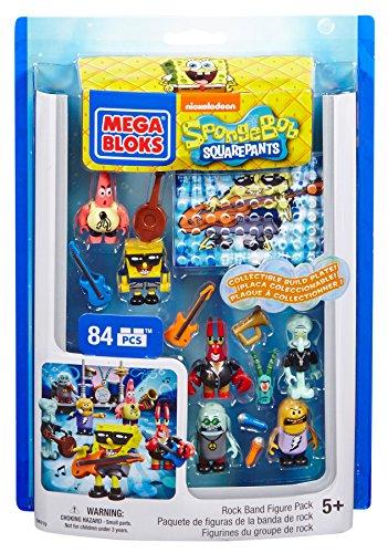 - Mega Bloks SpongeBob Rock Band Figure Pack