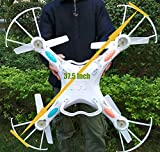 Night lions Tech(TM) 37.5 Inch Monster Drone N7C 4 Channel 6 Axis GYRO Big Quadcopter with HD Camera For Outdoor Flying, Upgraded version by NiGHT LiONS TECH