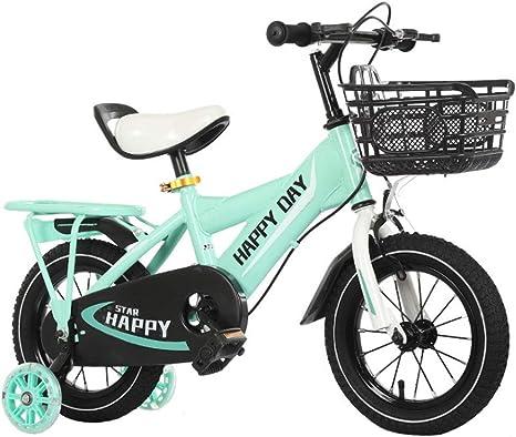 M-YN Bicicleta Niños con Ruedines Boy de los niños niños de la ...