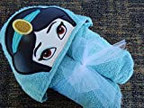 Personalized Arabian Princess Hooded Towel