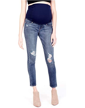 97c605cd7968a Ingrid & Isabel Women's Skinny Maternity Jeans with Crossover Panel