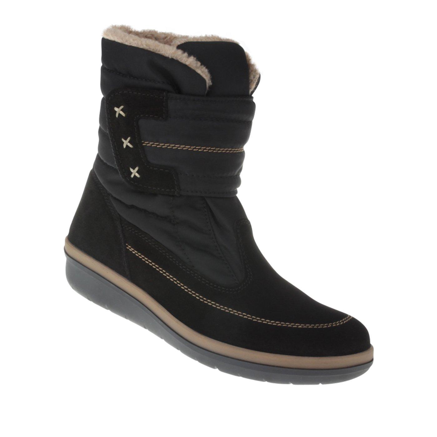 Tessamino Damen Stiefel aus Tex-Membran und echtem Leder   Weite H