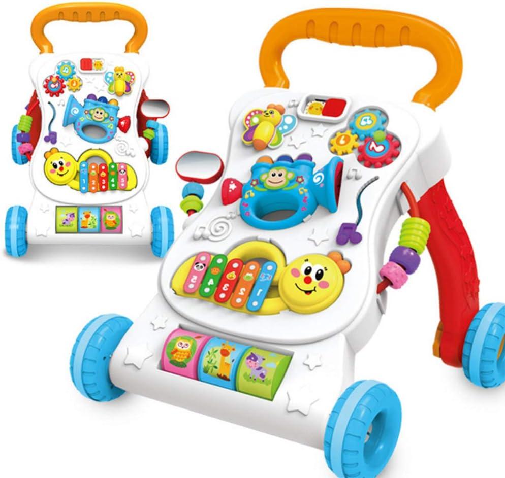 ZYP Andador, Trolley, niña 8 niños aprenden a Caminar Caminante 6-9-18 Meses 1 año de Edad, Juguete Infantil