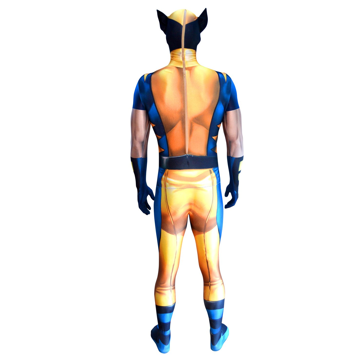 Morphsuits - Disfraz Wolverine, Multicolor, talla M (150cm-162cm ...
