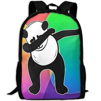 ZQBAAD Panda Novelty Luxury Print Men And Women's Travel Knapsack