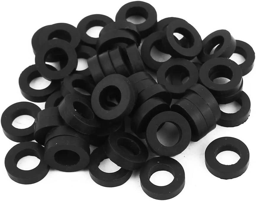 uxcell 30 x 40 x 3mm O-Ring Hose Gasket Flat Rubber Washer Lot for Faucet Grommet 10pcs