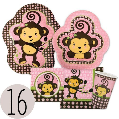 Girl Party Plates - 9