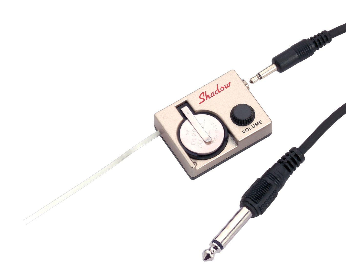 Shadow Electronics Nanoflex - Fonocaptor para guitarra acústica (montaje rápido, con pastilla/preamplificador), color dorado: Amazon.es: Instrumentos ...