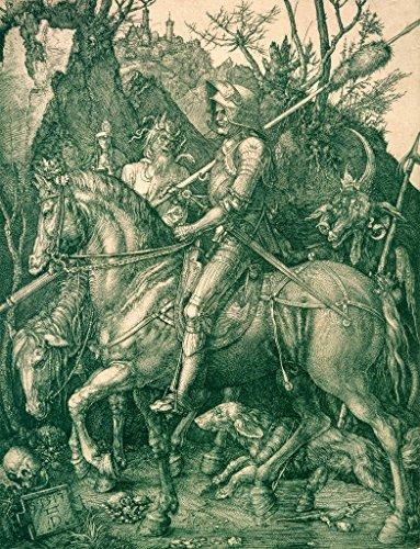 kunst für alle Art Print/Poster: Albrecht Dürer Knight Death and The Devil 1513