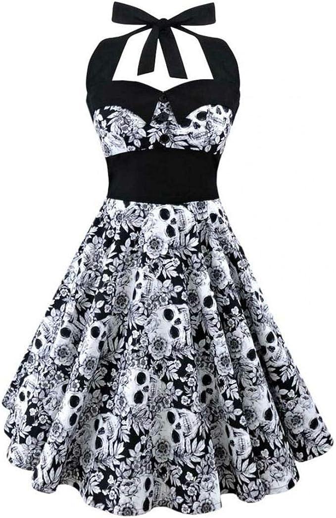 Acheter robe tete de mort online 18