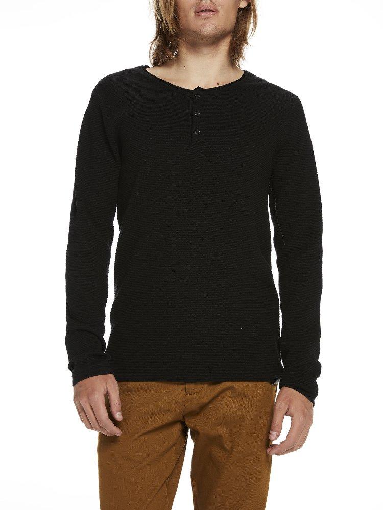 Cotton-Cashmere Pullover, Suéter para Hombre, Gris (Antra Melange 0608), Small Scotch & Soda