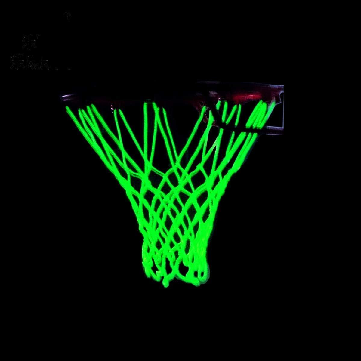 Bestlymood Filet de basket-ball /à suspendre avec filet de basket-ball pour int/érieur ou ext/érieur 35,6 cm