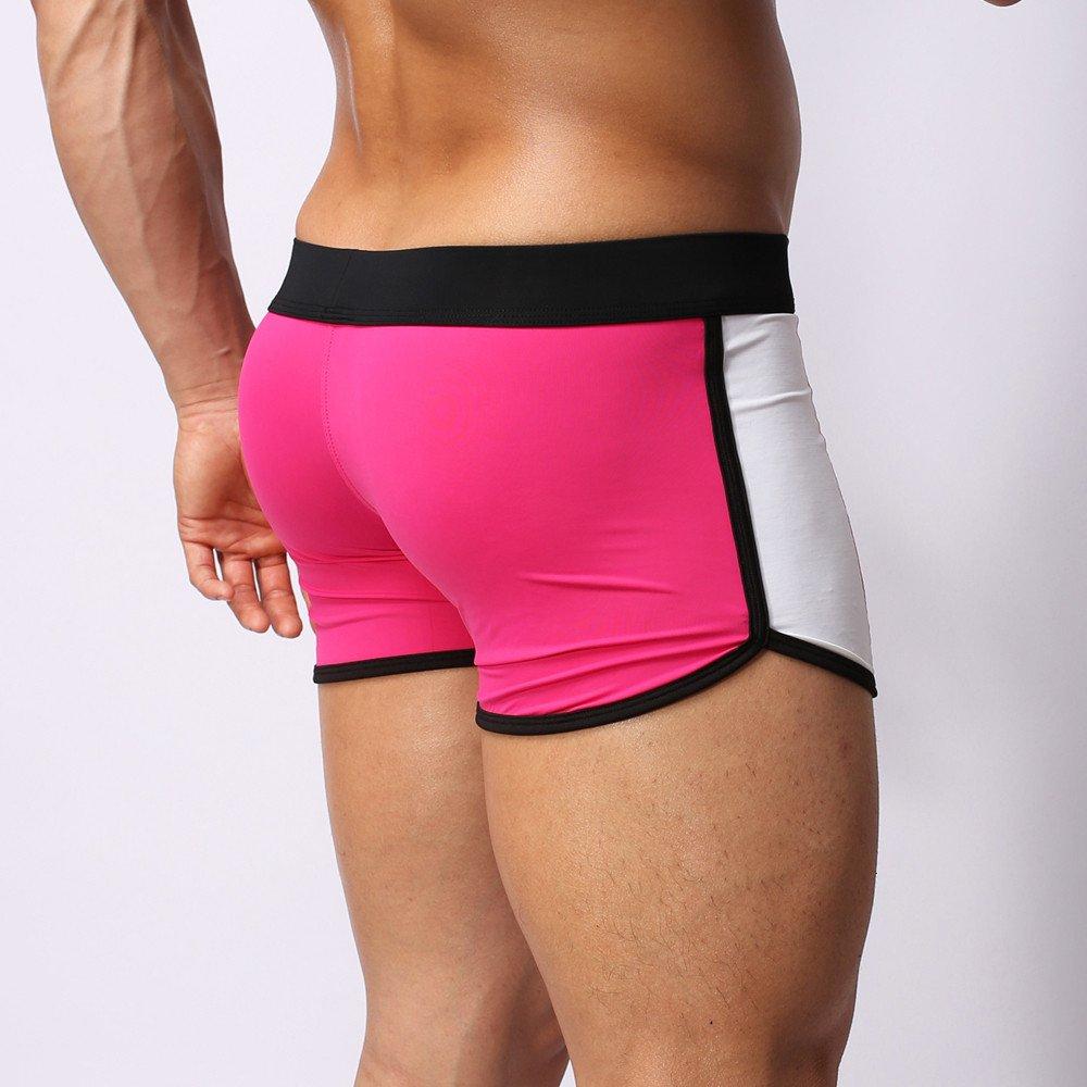 Xiloccer Mens Briefs Tether Swimming Trunks Beachwear Underwear Surf Boardshorts