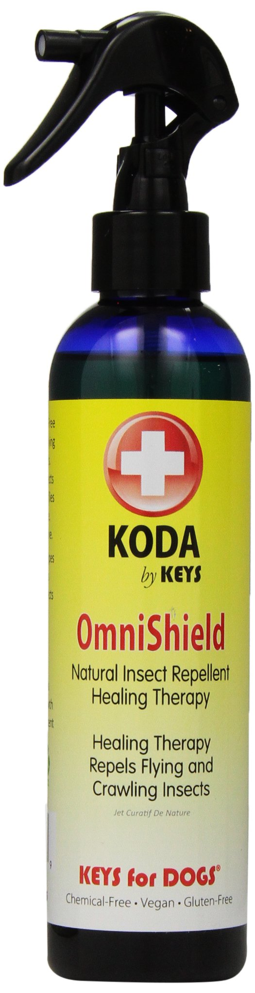 KODA Omni Shield Intense Spray Therapy and Natural Insect Repellent for Pets