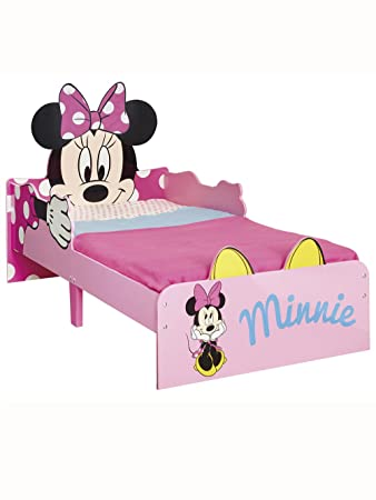 Disney Minnie Mouse Toddler Bed by HelloHome Amazoncouk
