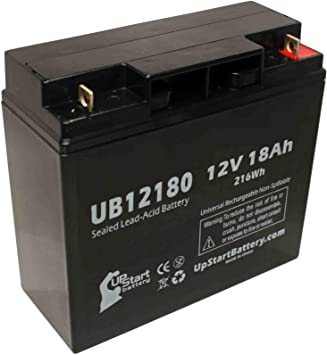 This is an AJC Brand Replacement APC Smart-UPS SU1400NET 12V 18Ah UPS Battery