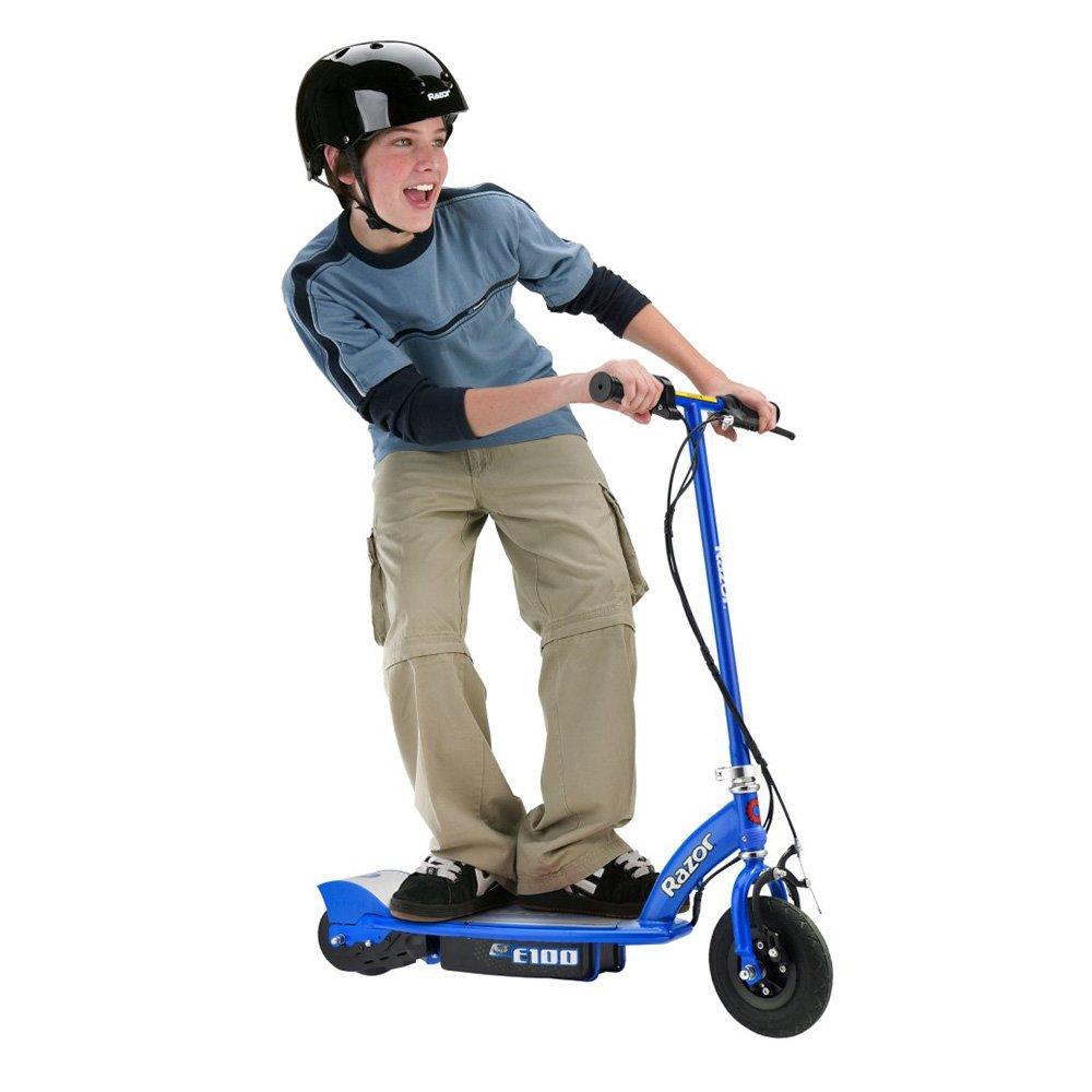 Razor E100 Electric Scooter (Blue) by Razor (Image #2)