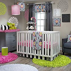 Glenna Jean Pippin Girl's 3 Piece Crib Set