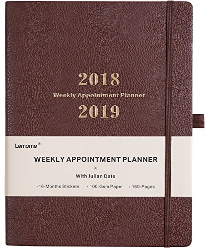 Planner 2018-2019 with Pen Holder -Weekly Appointment Book/Planner with TO-DO LIST, Thick Paper to Achieve Your Goals & Improve Productivity, 8.5