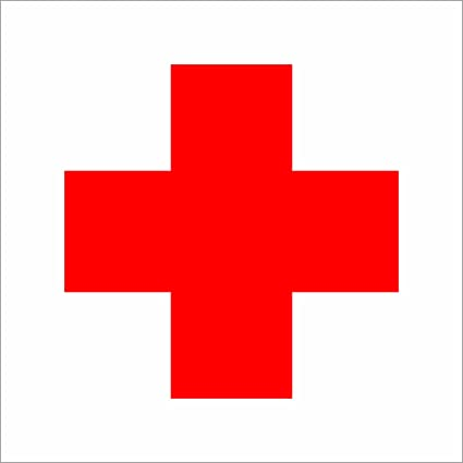 Amazoncom Red Cross Medical Decal Sticker Vinyl Car Window Laptop