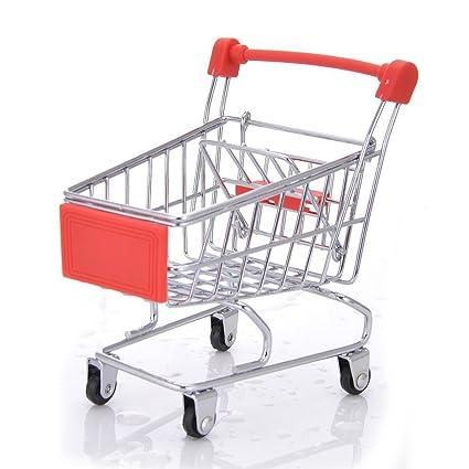 Pequeño carrito de la compra para mascotas, loro pájaros, carrito de la compra,