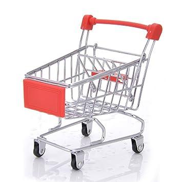 Pequeño carrito de la compra para mascotas, loro pájaros, carrito de la compra, juguete de entrenamiento ...