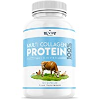 Multi Collagen Protein Powder - 5 Types of Food Sourced Collagen Peptides - Hydrolysed Grass Fed Bovine, Wild Caught…