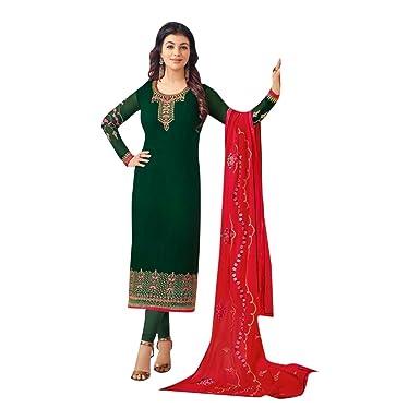 Amazon.com: Bollywood 2534 - Traje de vestir para novia con ...