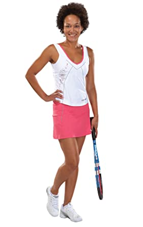 Babolat - Falda de pádel para mujer, tamaño XL, color rosa: Amazon.es: Ropa y accesorios