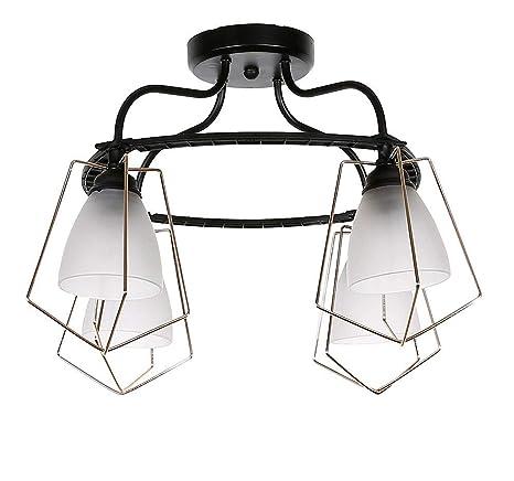 JSXCC Foco de techo: lámpara de techo con iluminación ...