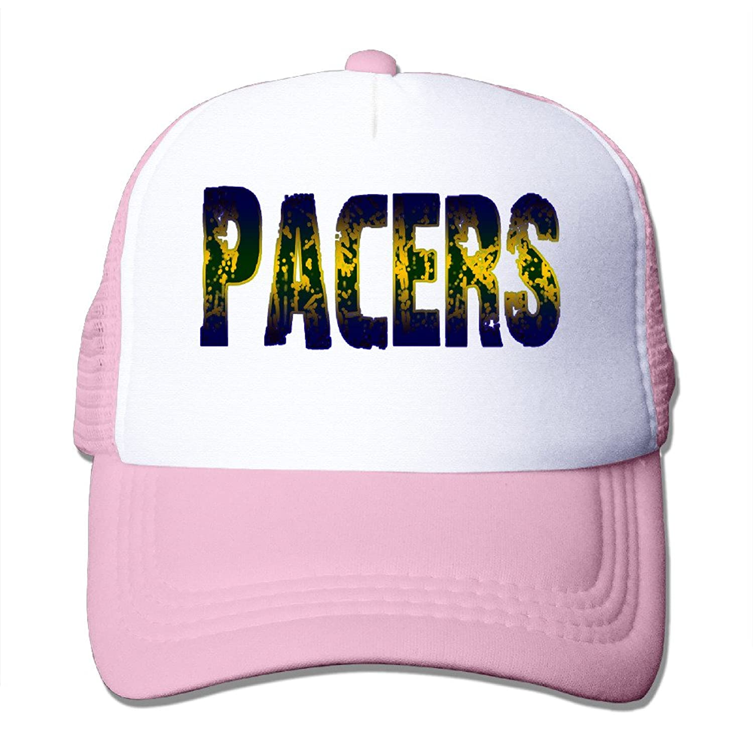 Cool Indiana Pacers Adult Nylon Adjustable Mesh Hat Mesh Caps Black One Size Fits Most
