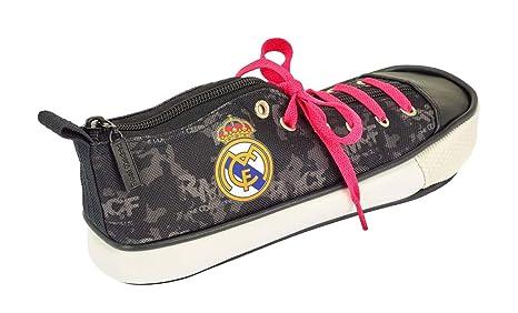 Safta Estuche Zapatilla Real Madrid Black 24x8x8,5 811924830