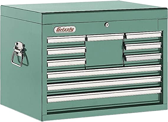 Grizzly Industrial H5652-10 Drawer Full Depth Tool Chest