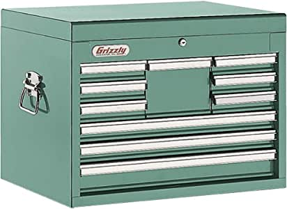 Grizzly H5652 10 Drawer Ful Length Depth Chest