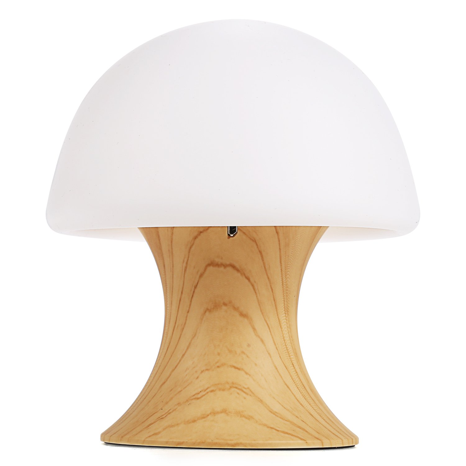 XKTTSUEERCRR Rechargeable Multicolor LED Night Lamp, Silicone Light Ball and Mushroom Variable Appearance, Baby / Kids Mushroom Night Light Table/Desk Lamp with Timer Mode