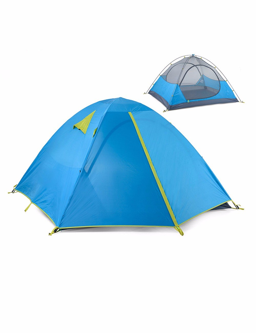 SJQKA-Zelt Outdoor 2 Personen 3-4 Personen Zelt, die Open-Air-Zelt Familie Paare, Camping Zelt,