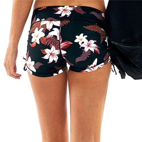 Amazon.com: Mujer Caliente Pantalones Cortos de impresión ...