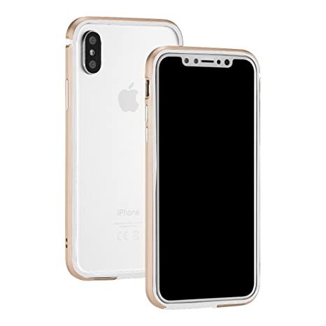 custodia iphone x in alluminio