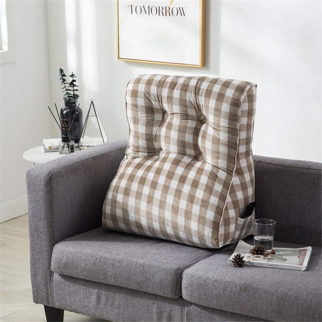 DUHUI Bed Wedge, Wedge für Wohnzimmer und und und Schlafzimmer, Sleeping Wedge, um die Wirbelsäule zu entlasten Pill Stillkissen fürs Liegen und Sitzen (Farbe   SCHWARZ, größe   55x60x30cm) B07KJN7DFG Kissen Neuartiges Design 796d58