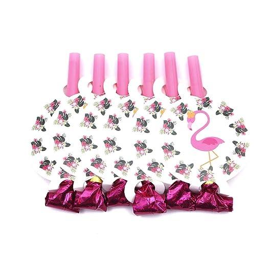 Monbedos - 1 paquete de suministros de flamencos para fiesta ...