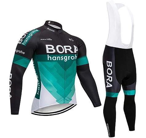 TOPBIKEB Ropa Ciclismo Verano para Hombre, Ciclismo Maillot Mangas Largas y Ciclismo Culote Bicicleta: Amazon.es: Deportes y aire libre