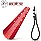 The Prairie Dog - Ultralight Camp Shovel Trowel for Backpackers - 0.7 Ounces/Extendable Handle/Double Sided Spade/Comfortable