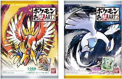 CANDY TOY Bandai Pokemon Shikishi ART 3 10Pack BOX
