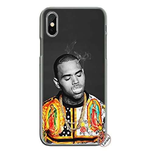 chris brown looking up iphone case