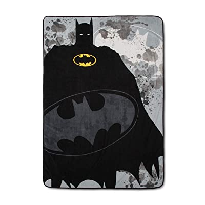Franco DC Comics Batman Bed Blankets (Twin): Home & Kitchen