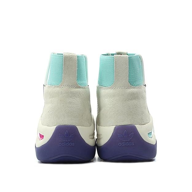 new style 919d1 a1120 Adidas Mens Crazy 8 ADV Nicekicks WhiteMint-Purple Mesh Amazon.ca Shoes   Handbags