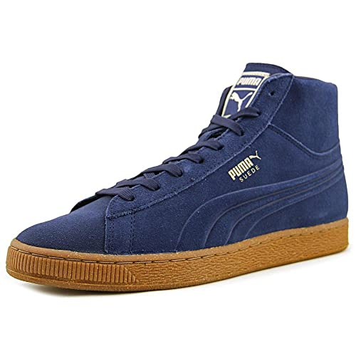Puma Suede Mid Emboss Men US 9 Blue Sneakers  Buy Online at Low Prices in  India - Amazon.in 1800a577ab