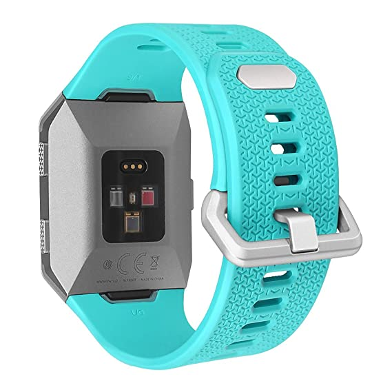 Amazon.com: for Fitbit Ionic Bands [Large], Fintie Soft TPU ...