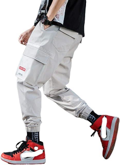 Pantalones Harem Informales para Hombre Pantalones cónicos ...