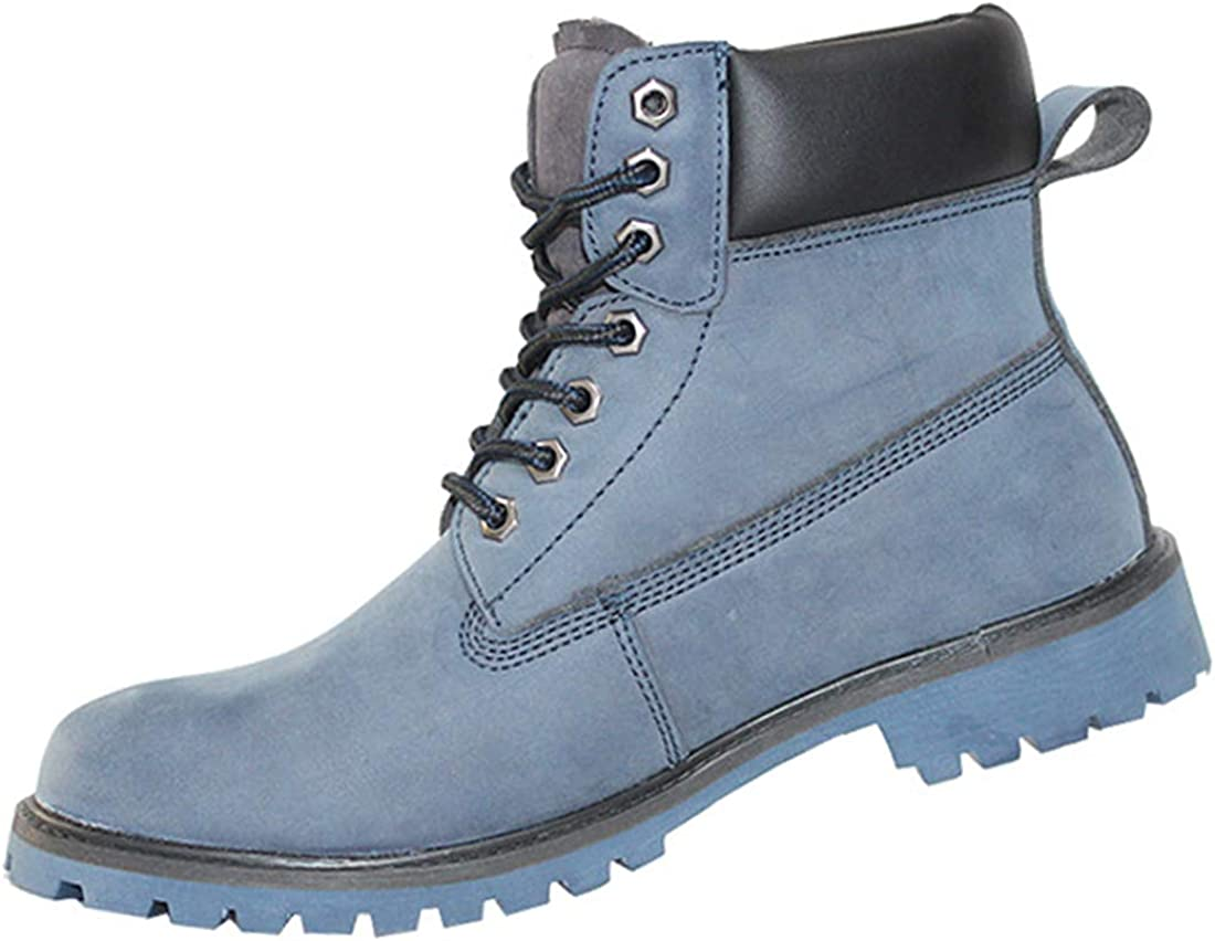 Botas de Seguridad con Puntera de Acero, Zapatos de Trabajo a ...